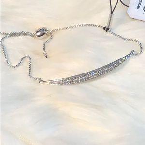 Nadri Crystals Paved adjustable bracelet (JA3-5)